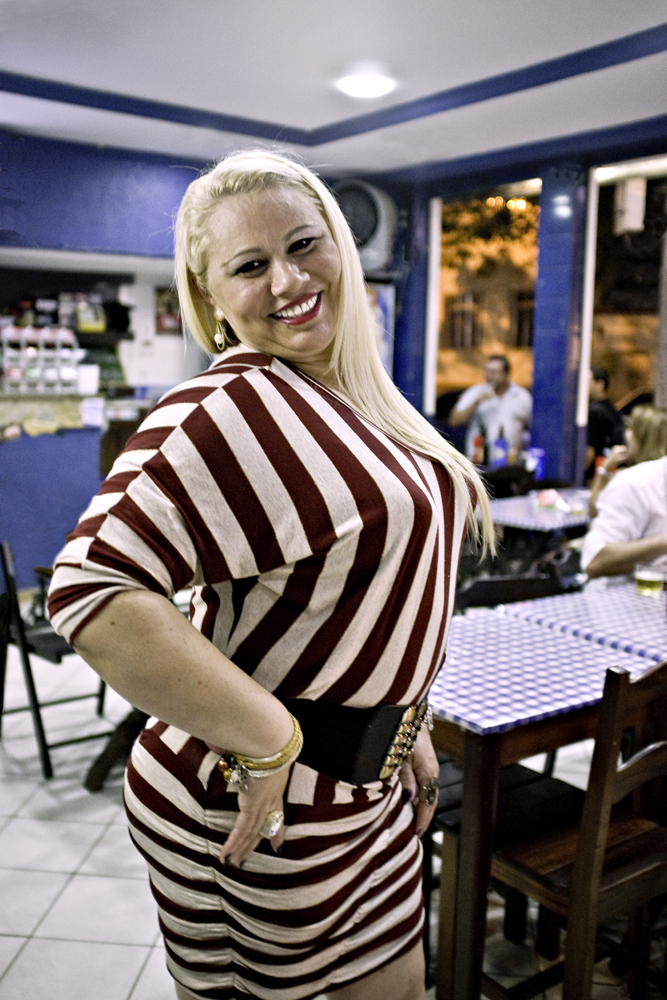 Woman-in-Striped-Dress-Rio-2011