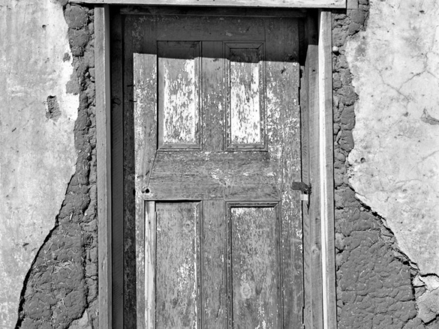 Doorway,San Jose NM 1972
