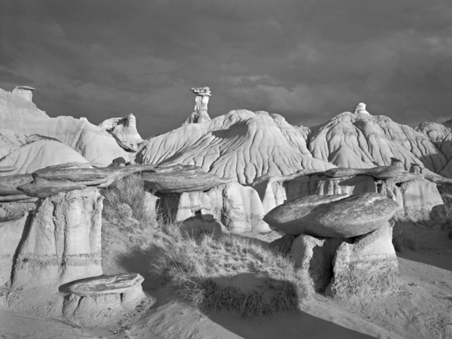 Bisti Wilderness New Mexico 1987