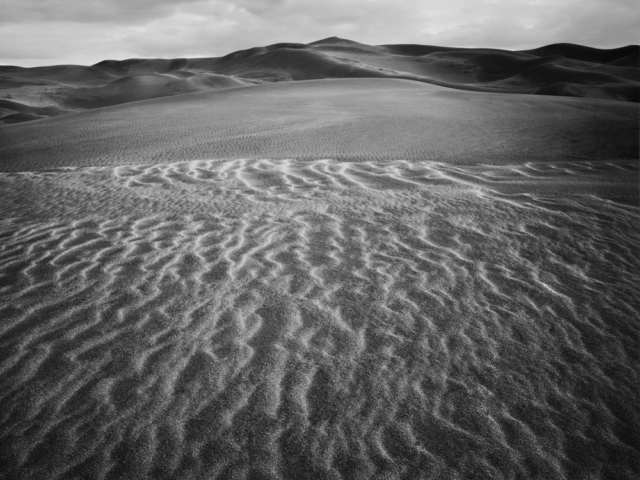 Great Sand Dunes Colorado 1990