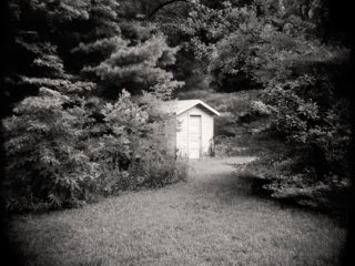 White Shed Michigan 1994