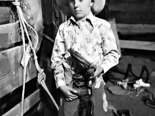 Young Bull Rider Colorado 1972