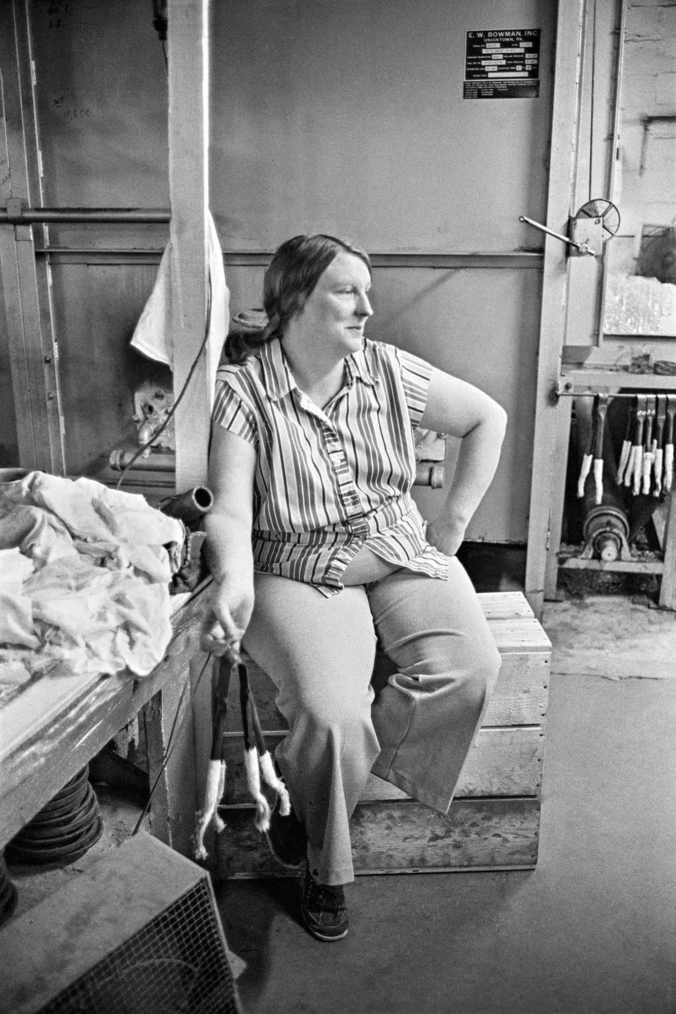 arthur-lazar-Factory-Worker-North-Carolina-1976
