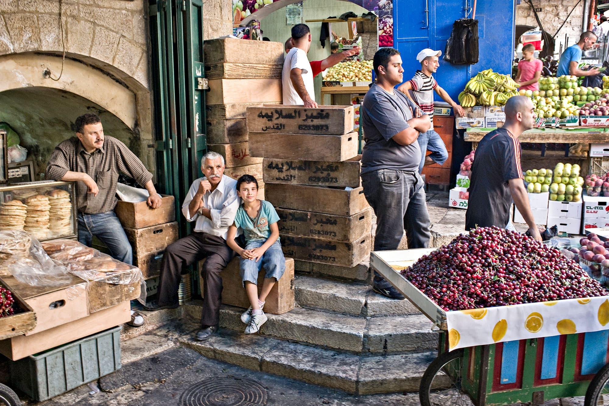 arthur-lazar-Muslim-Quarter-Jerusalem